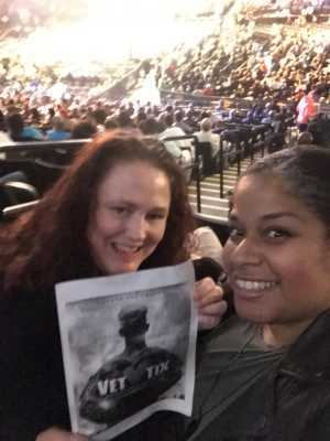 Katty attended Premier Boxing Champions: Deontay Wilder vs. Dominic Breazeale - Boxing on May 18th 2019 via VetTix