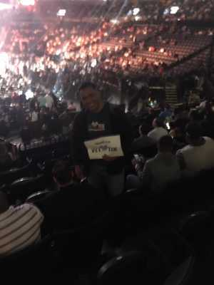Angel attended Premier Boxing Champions: Deontay Wilder vs. Dominic Breazeale - Boxing on May 18th 2019 via VetTix