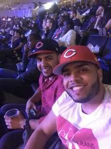 Erickson attended Premier Boxing Champions: Deontay Wilder vs. Dominic Breazeale - Boxing on May 18th 2019 via VetTix