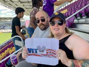 Tracy attended Orlando City SC vs. FC Cincinnati - MLS on May 19th 2019 via VetTix