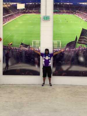 Dwayne attended Orlando City SC vs. FC Cincinnati - MLS on May 19th 2019 via VetTix