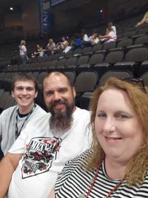 Joshua attended Jacksonville Sharks vs. Orlando Predators - AFL - Military Appreciation Night! on May 18th 2019 via VetTix