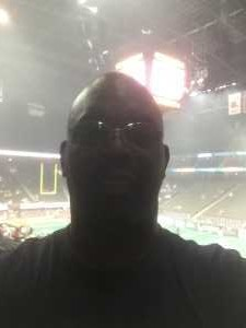 Creston attended Jacksonville Sharks vs. Orlando Predators - AFL - Military Appreciation Night! on May 18th 2019 via VetTix