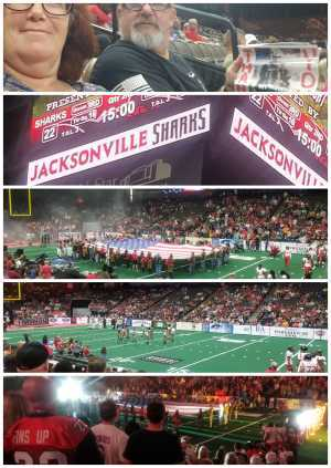 Louis Wright attended Jacksonville Sharks vs. Orlando Predators - AFL - Military Appreciation Night! on May 18th 2019 via VetTix