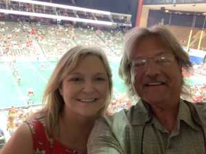 Daniel attended Jacksonville Sharks vs. Orlando Predators - AFL - Military Appreciation Night! on May 18th 2019 via VetTix