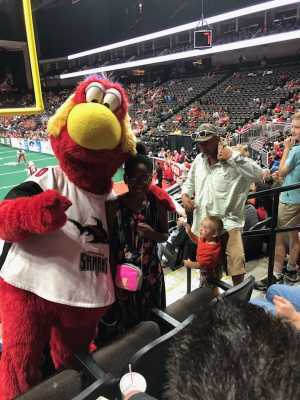 Willie attended Jacksonville Sharks vs. Orlando Predators - AFL - Military Appreciation Night! on May 18th 2019 via VetTix