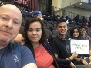 Gerald attended Jacksonville Sharks vs. Orlando Predators - AFL - Military Appreciation Night! on May 18th 2019 via VetTix