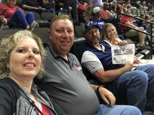 Joseph attended Jacksonville Sharks vs. Orlando Predators - AFL - Military Appreciation Night! on May 18th 2019 via VetTix