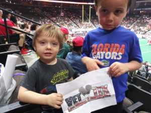 Clifford attended Jacksonville Sharks vs. Orlando Predators - AFL - Military Appreciation Night! on May 18th 2019 via VetTix