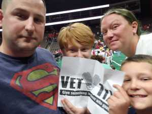 Travis attended Jacksonville Sharks vs. Orlando Predators - AFL - Military Appreciation Night! on May 18th 2019 via VetTix