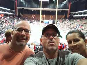 William attended Jacksonville Sharks vs. Orlando Predators - AFL - Military Appreciation Night! on May 18th 2019 via VetTix