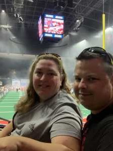 Shane attended Jacksonville Sharks vs. Orlando Predators - AFL - Military Appreciation Night! on May 18th 2019 via VetTix