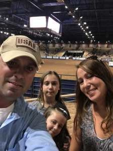 Justin attended 143rd Silver Spurs Rodeo - Friday Only on May 31st 2019 via VetTix