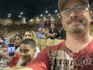 Carl attended 143rd Silver Spurs Rodeo - Friday Only on May 31st 2019 via VetTix
