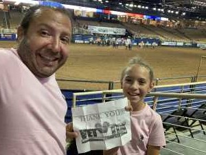 Michael attended 143rd Silver Spurs Rodeo - Friday Only on May 31st 2019 via VetTix