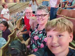 Wally attended 143rd Silver Spurs Rodeo - Friday Only on May 31st 2019 via VetTix