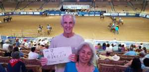 John attended 143rd Silver Spurs Rodeo - Friday Only on May 31st 2019 via VetTix