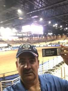 aquilino attended 143rd Silver Spurs Rodeo - Friday Only on May 31st 2019 via VetTix