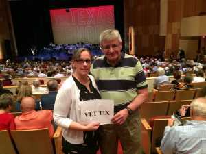 Robert attended The Texas Tenors - Saturday on May 18th 2019 via VetTix