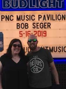 Frank attended Bob Seger and the Silver Bullet Band - Pop on May 16th 2019 via VetTix