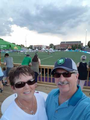 Dennis attended Greenville Triumph SC vs. Richmond Kickers - USL League One - Heroes Night on May 18th 2019 via VetTix