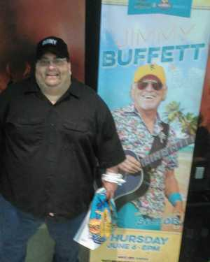 Robert attended Jimmy Buffett - Pop on Jun 6th 2019 via VetTix