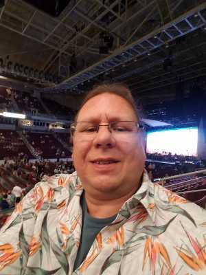 Scott attended Jimmy Buffett - Pop on Jun 6th 2019 via VetTix