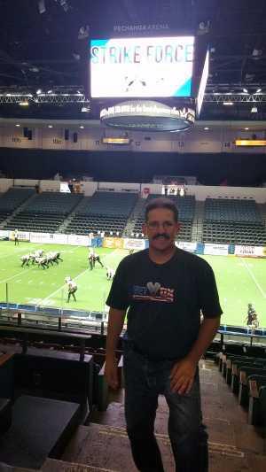 John attended San Diego Strike Force vs. Arizona Rattlers - IFL on May 19th 2019 via VetTix