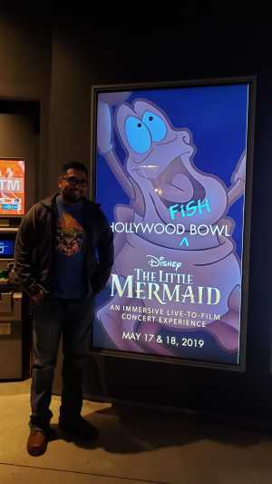 Dennis attended Disney the Little Mermaid an Immersive Live-to-film Concert Experience - Other on May 17th 2019 via VetTix
