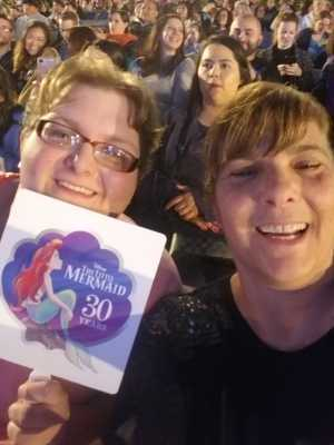 Shelley attended Disney the Little Mermaid an Immersive Live-to-film Concert Experience - Other on May 17th 2019 via VetTix
