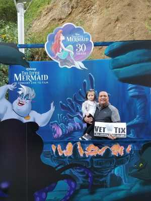 Click To Read More Feedback from Disney the Little Mermaid an Immersive Live-to-film Concert Experience - Other