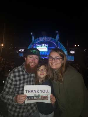 Nick attended Disney the Little Mermaid an Immersive Live-to-film Concert Experience - Other on May 17th 2019 via VetTix