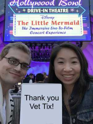 Mark attended Disney the Little Mermaid an Immersive Live-to-film Concert Experience - Other on May 18th 2019 via VetTix