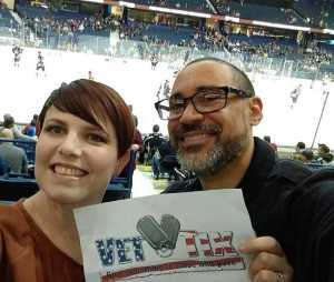 Richard attended Chicago Wolves vs. San Diego Gulls - AHL - Armed Forces Night - Calder Cup Playoffs - Special Instructions * See Notes on May 18th 2019 via VetTix