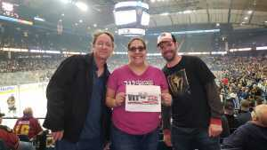 Sonya attended Chicago Wolves vs. San Diego Gulls - AHL - Armed Forces Night - Calder Cup Playoffs - Special Instructions * See Notes on May 18th 2019 via VetTix