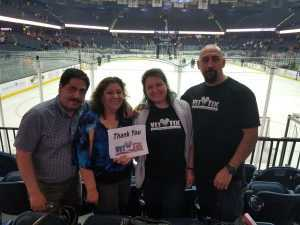 Jose attended Chicago Wolves vs. San Diego Gulls - AHL - Armed Forces Night - Calder Cup Playoffs - Special Instructions * See Notes on May 18th 2019 via VetTix