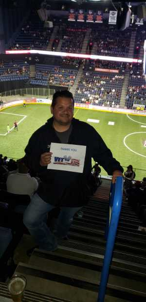 Andres attended USA vs. Mexico Exhibition Match - Arena Soccer International Game on May 31st 2019 via VetTix