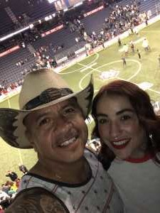 Adolfo attended USA vs. Mexico Exhibition Match - Arena Soccer International Game on May 31st 2019 via VetTix