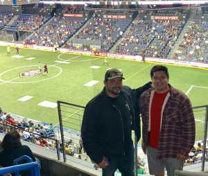 James  attended USA vs. Mexico Exhibition Match - Arena Soccer International Game on May 31st 2019 via VetTix