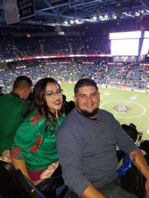 Luis attended USA vs. Mexico Exhibition Match - Arena Soccer International Game on May 31st 2019 via VetTix