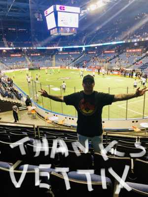 Diego usn abf attended USA vs. Mexico Exhibition Match - Arena Soccer International Game on May 31st 2019 via VetTix