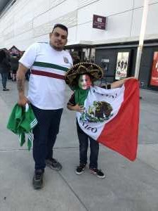 Christopher attended USA vs. Mexico Exhibition Match - Arena Soccer International Game on May 31st 2019 via VetTix