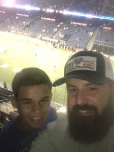 Jalan attended USA vs. Mexico Exhibition Match - Arena Soccer International Game on May 31st 2019 via VetTix