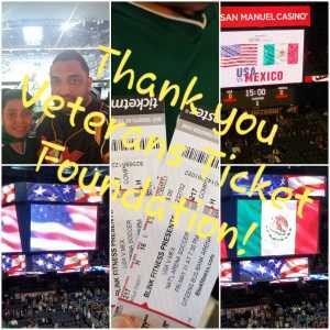 Adam attended USA vs. Mexico Exhibition Match - Arena Soccer International Game on May 31st 2019 via VetTix