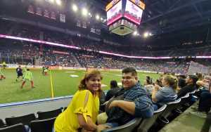 Natalie attended USA vs. Mexico Exhibition Match - Arena Soccer International Game on May 31st 2019 via VetTix