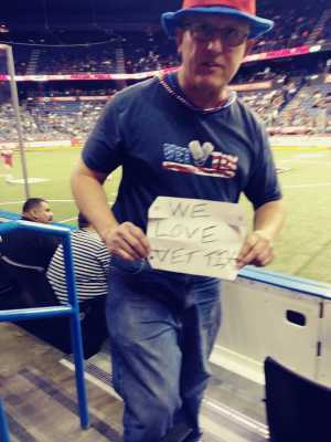 DEAN attended USA vs. Mexico Exhibition Match - Arena Soccer International Game on May 31st 2019 via VetTix