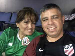 David attended USA vs. Mexico Exhibition Match - Arena Soccer International Game on May 31st 2019 via VetTix