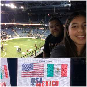 Aaron attended USA vs. Mexico Exhibition Match - Arena Soccer International Game on May 31st 2019 via VetTix