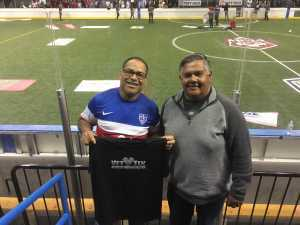 Noel attended USA vs. Mexico Exhibition Match - Arena Soccer International Game on May 31st 2019 via VetTix