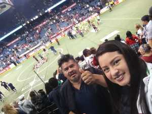 Yadira attended USA vs. Mexico Exhibition Match - Arena Soccer International Game on May 31st 2019 via VetTix